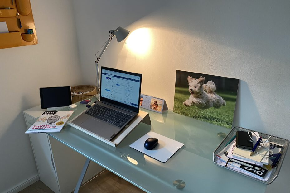 Tägliche Inspiration im Home Office
