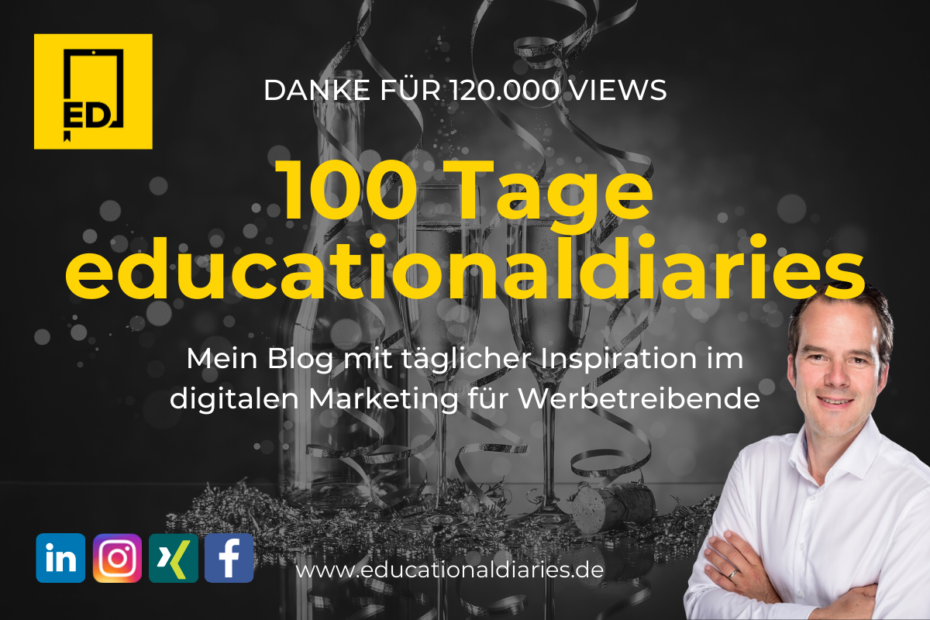Tag100 Die Top10 aus 100 Beiträgen