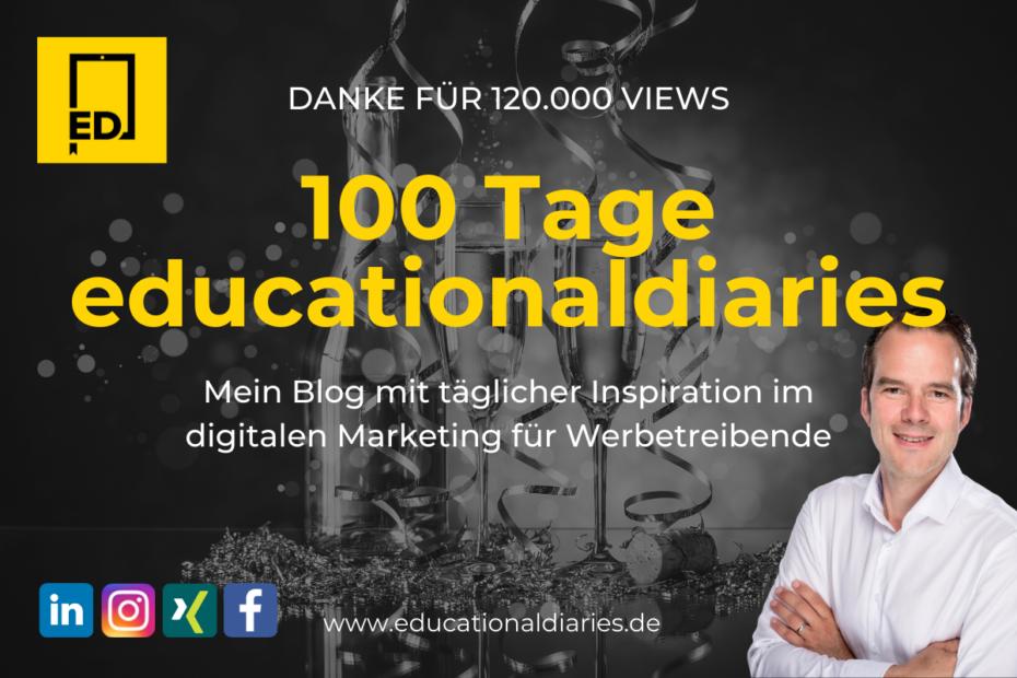 100 Tage Blog